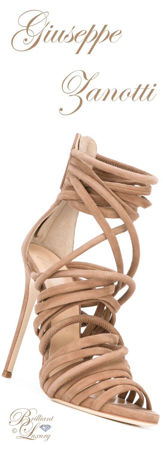 Brilliant Luxury ♦ Giuseppe Zanotti Runway Sandals
