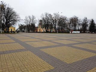 Прилуки, Черниговская обл. Центральная площадь