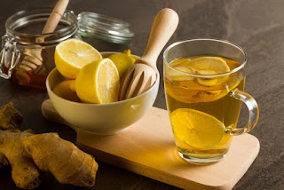 Chinese Medicine Recommends Drinking Ginger Lemon Tea