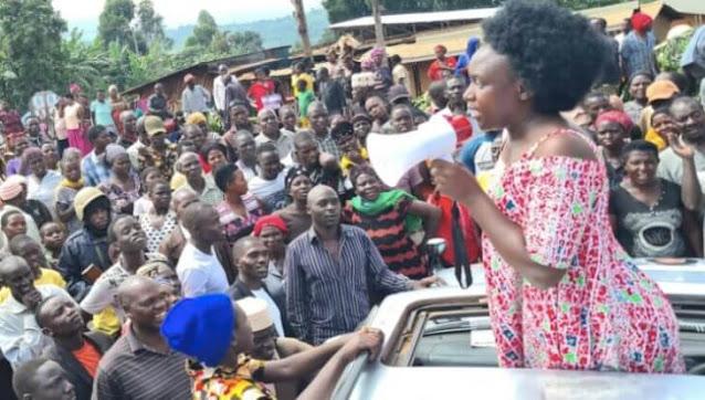 Ms Nancy Kalembe Ugandan presidential candidate