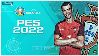 Download PES 2022 PPSSPP EURO 2020 Edition V1.2 English Commentary Peter Drury & Transfers 2021/22