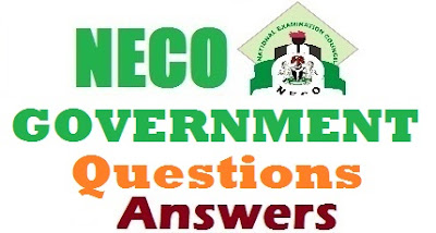 2017 NECO Government Questions & Answers OBJ/Theory (Expo/Runz)