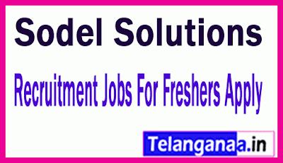 Sodel Solutions Recruitment Jobs For Freshers Apply
