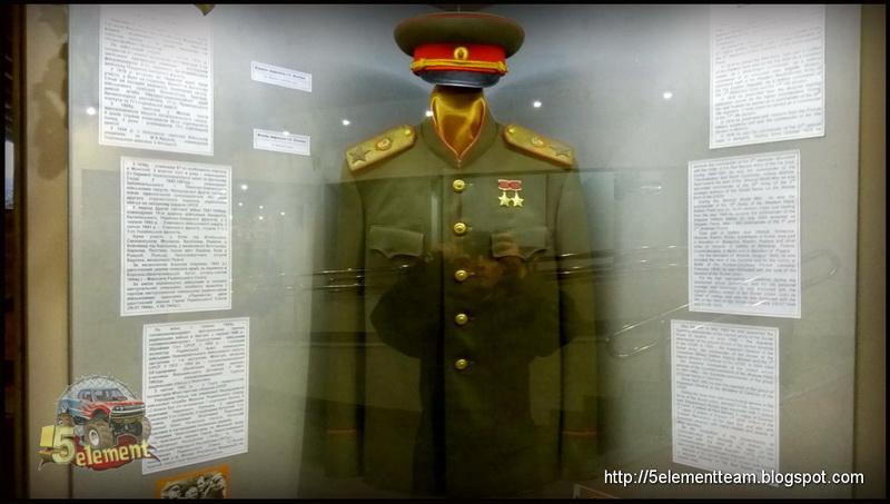 Китель Маршала Конева в музее Высота Маршала Конева