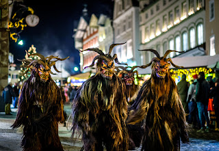 krampusnacht traditions,krampus germany,krampus austria,is krampus real,knecht ruprecht