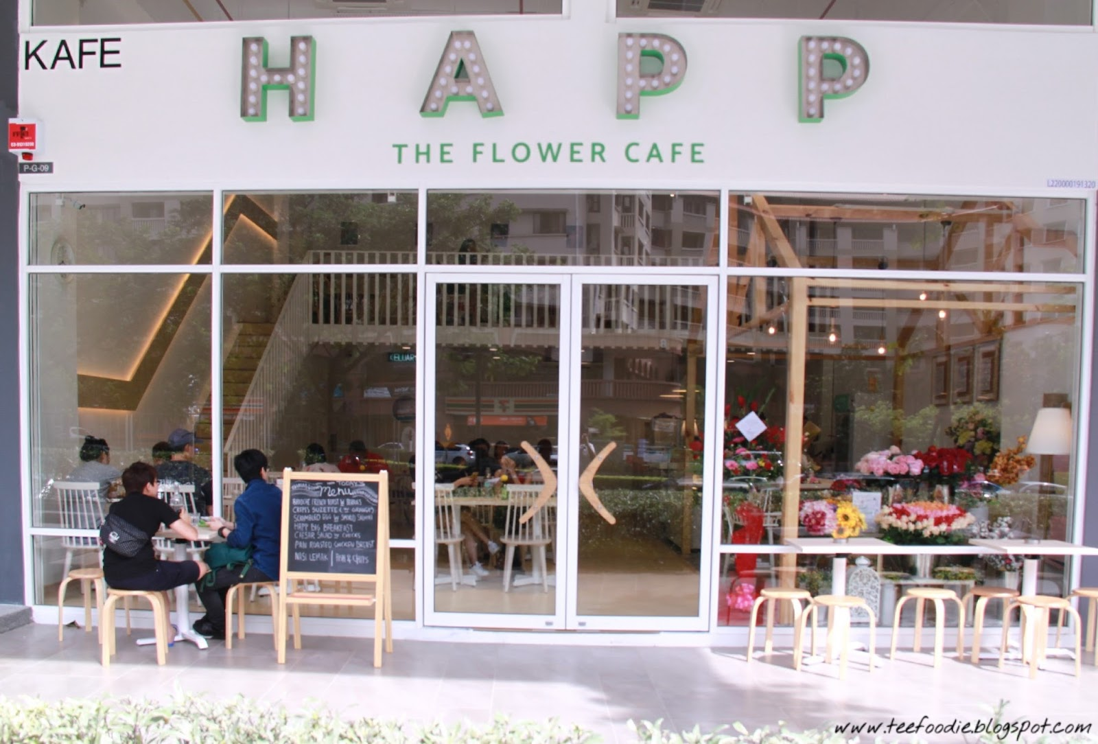 happ cafe @ tropicana avenue - tee foodie