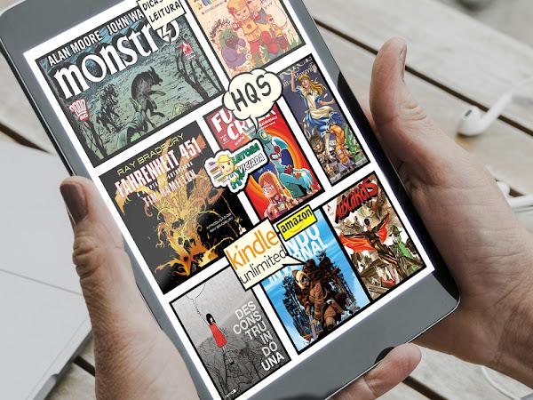 Dicas de leitura: HQs no Kindle Unlimited