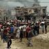 Explosion in Abule Ado
