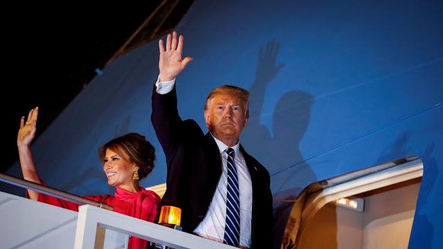 Trump informa que su esposa Melania dio negativo al coronavirus