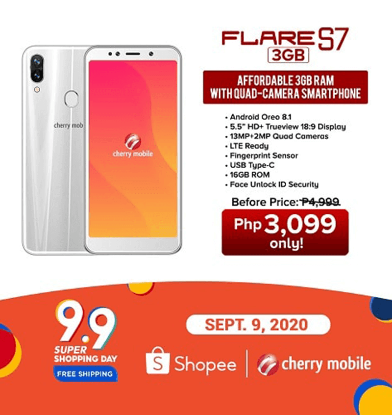 Also on sale at Shopee