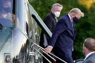 """Presiden Amerika Donald Trump Dibawa ke Rumah Sakit Militer """"Walter Reed"""""""