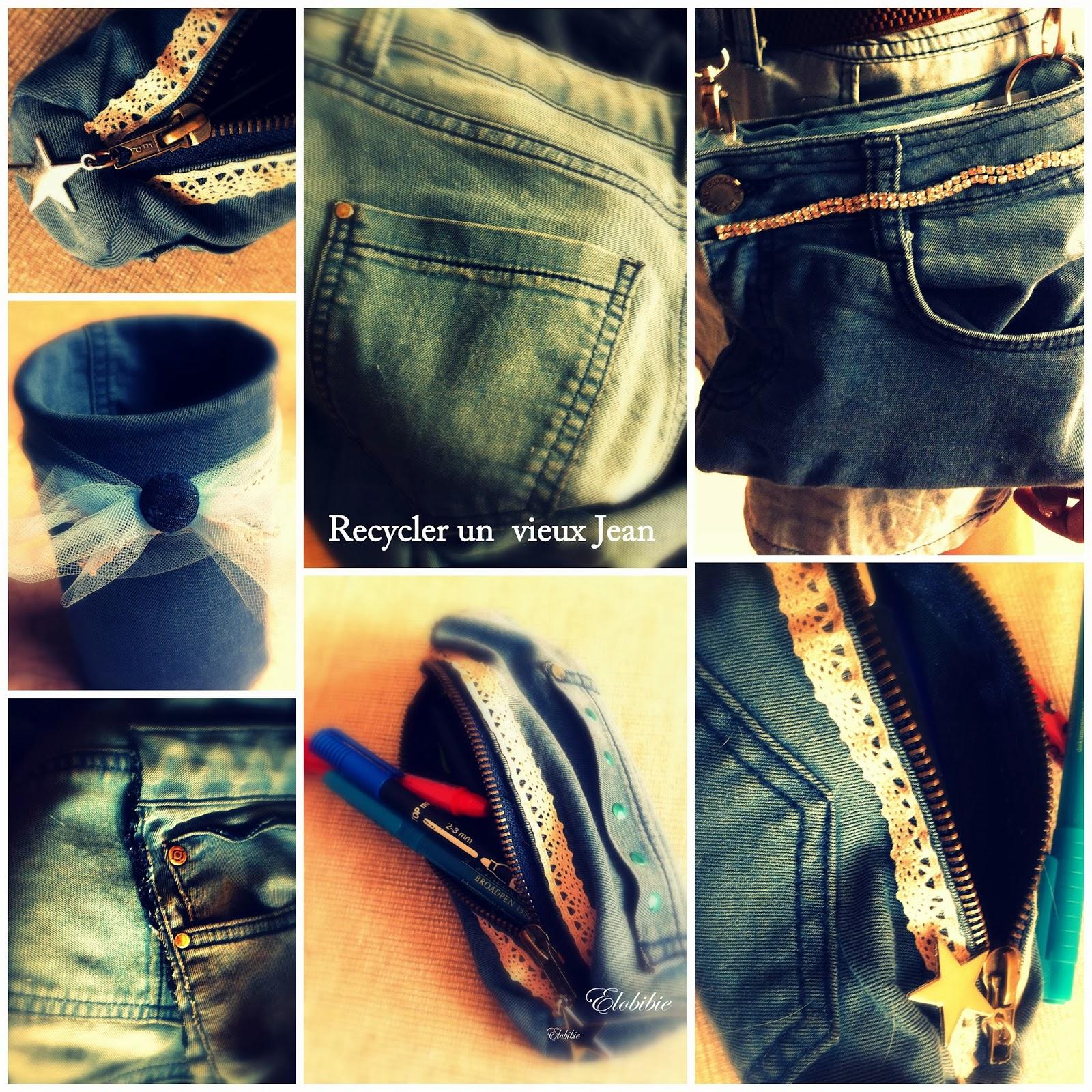 elobibilaf e recycler un vieux jeans. Black Bedroom Furniture Sets. Home Design Ideas