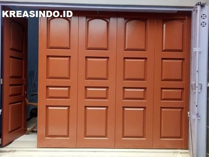 Pintu Garasi Besi pesanan Bpk Eko di Taman Manggis Permai ...