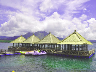 Resto Apung Kintamani, Restoran Di Danau Batur