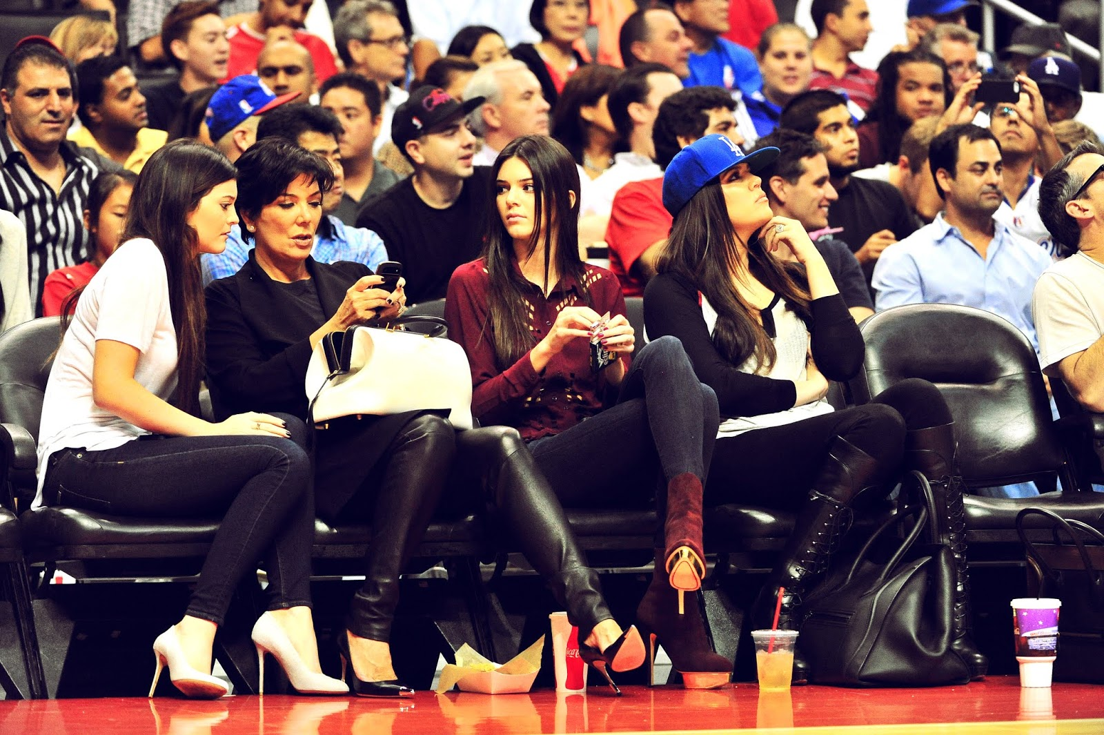 17 - Watching The Los Angeles Clippers Game on October 17, 2012