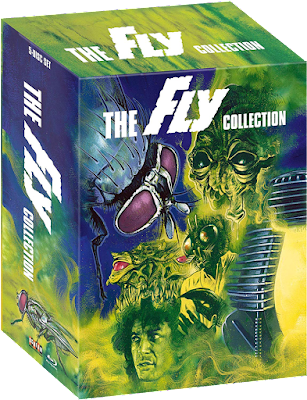 Behold Scream Factory's Upcoming Blu-ray Set of THE FLY films!