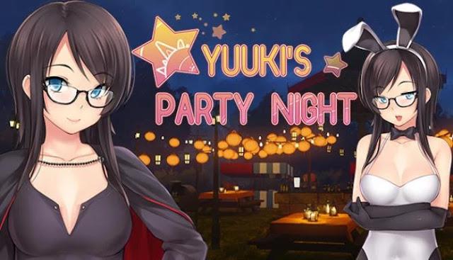 Yuuki's Party Night Visual Novel Free Download