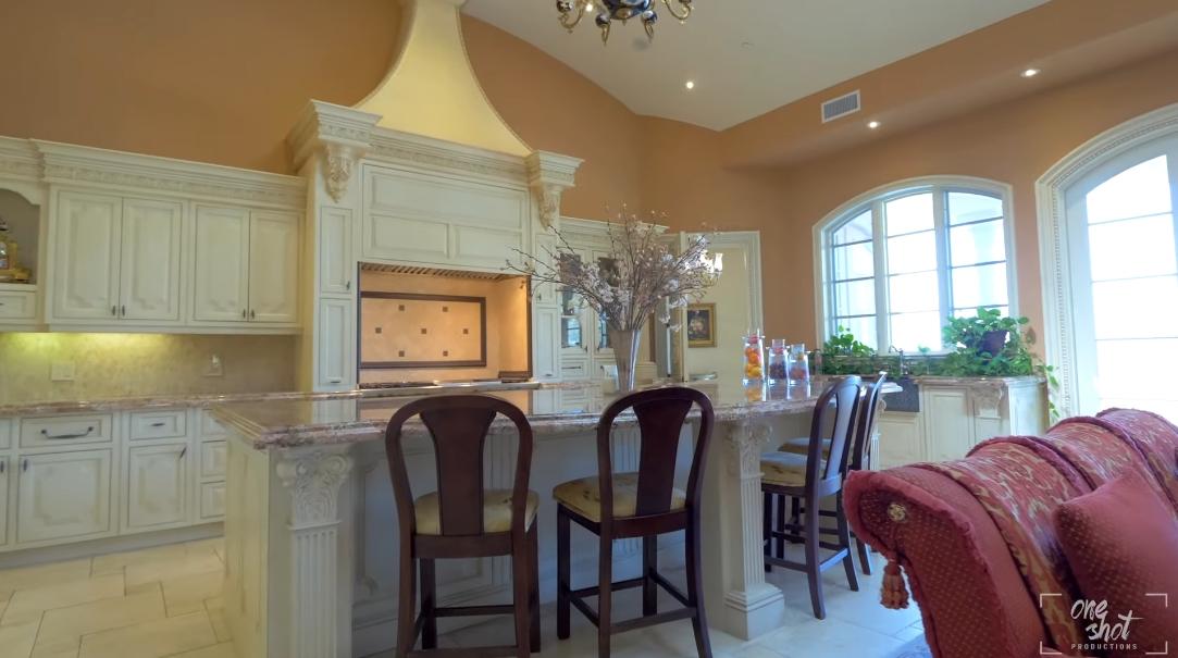 23 Interior Design Photos vs. Tour 19010 Ashurst Ln, Tarzana, CA Luxury Mansion