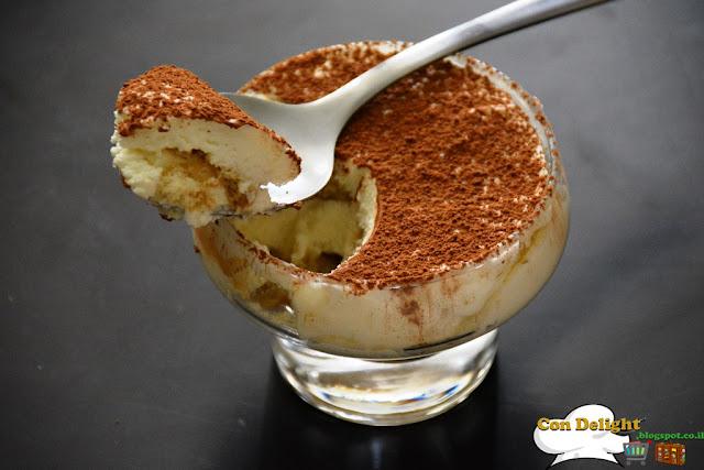 individual tiramisu trifle קינוח טרייפל טירמיסו