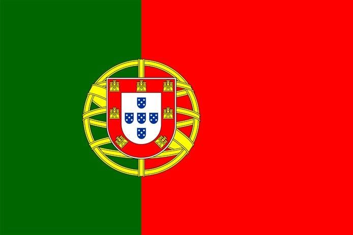 Bayrağında sarı olan ülkeler Portekiz bayrağı