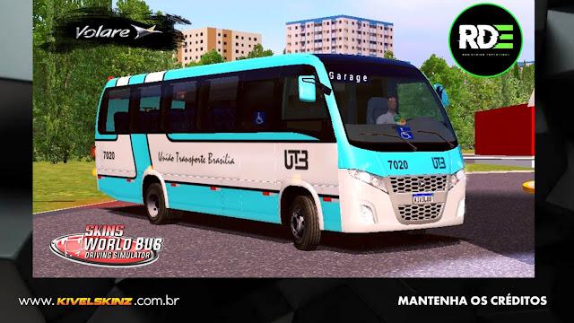 VOLARE W9 FLY - VIAÇÃO UTB - UNIÃO TRANSPORTE BRASÍLIA