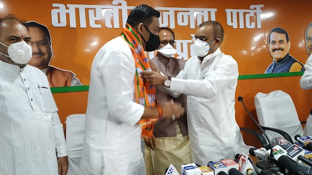 दमोह विधायक राहुल सिंह ने कांग्रेस छोड़ी.. मुख्यमंत्री शिवराज सिंह की मौजूदगी में हुए भाजपा में शामिल.. बड़ा मलहरा उपचुनाव में संभालेंगे चचेरे भाई प्रद्युम्न सिंह की चुनावी कमान.. उलटफेर की खबर से समर्थक ओर कांग्रेजन हतप्रद..