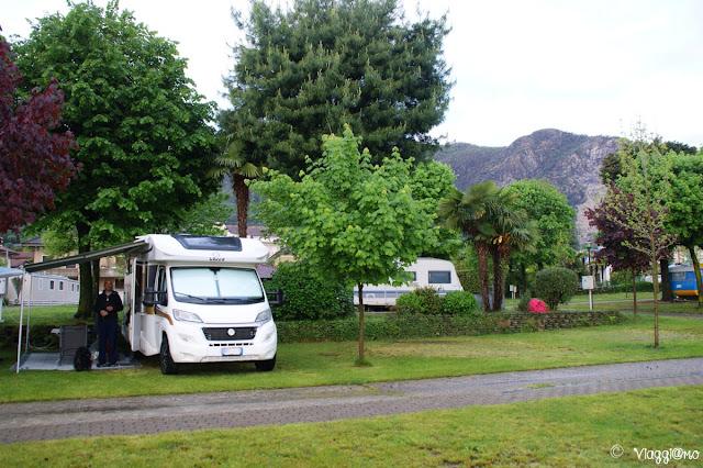 Il Camping Parisi di Baveno sul Lago Maggiore