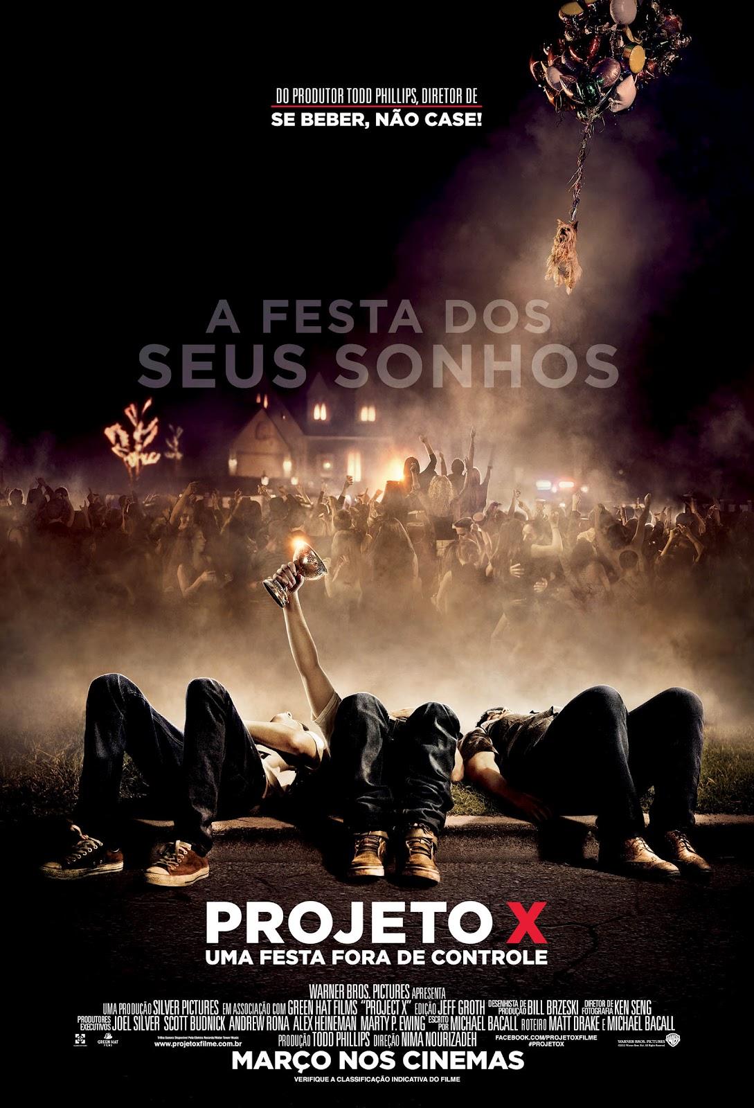 Projeto X: Uma Festa Fora de Controle - HD 720p