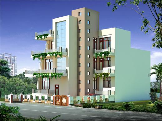 Induri Pune Triplex House Design