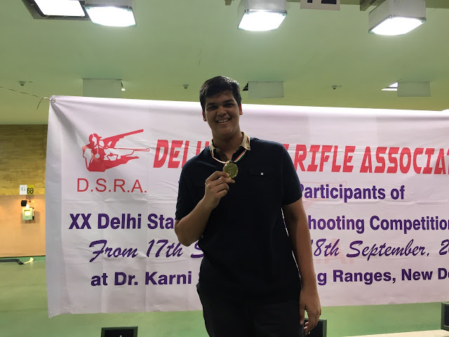 Pushan Jain continued his medal winning spree