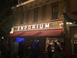 Emporium Disneyland At Night