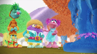 Abby Cadabby Blögg Gonnigan, Enchanted Forest, Abby's Flying Fairy School Henking Day, Sesame Street Episode 4312 Elmo and Zoe's Hat Contest season 43