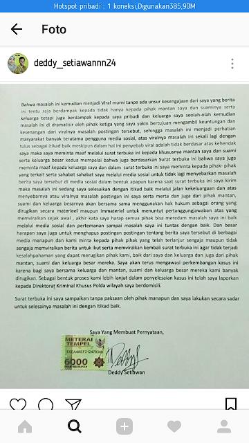 Surat Terbuka dari Deddy_Setiawan24
