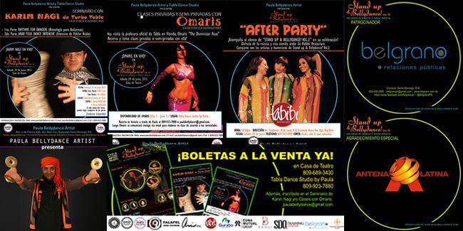 Festival Belly Dance Republica Dominicana Santo Domingo Show Danza Oriental Bellydance
