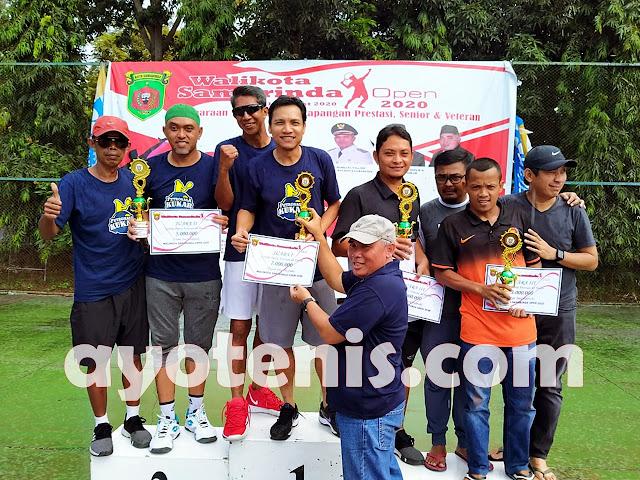 Abdul Kahar Mim Borong Gelar Juara Walikota Samarinda Open