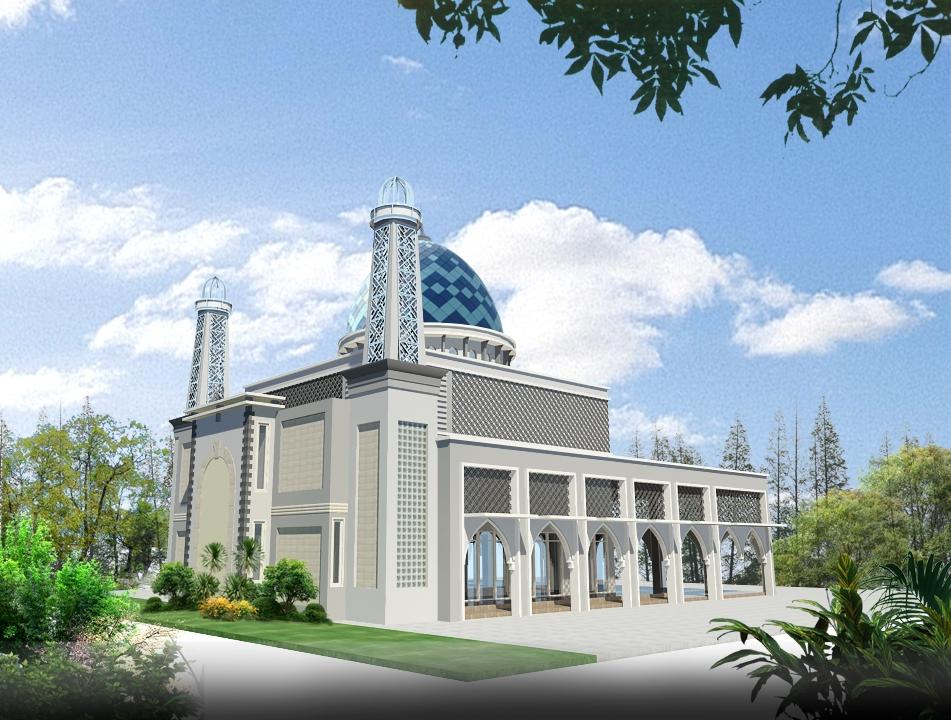 Contoh Desain Menara Masjid  Contoh 0917