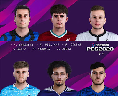 PES 2020 NEW Facepack V4 by Raden
