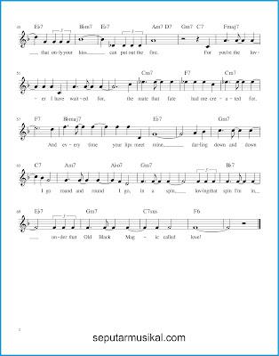 That Old Black Magic 2 chords jazz standar