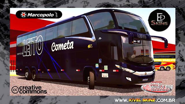 PARADISO G7 1600 LD - VIAÇÃO COMETA LEITO