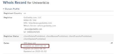 Uniworld.io 's website