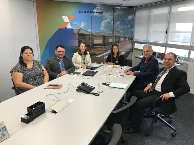 Marco Alba trata em Brasília de financiamento para a construção do Complexo Municipal de Educação Especial