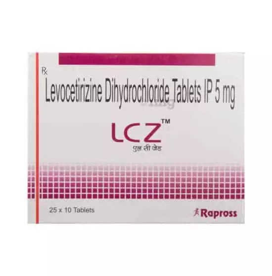 Anti Allergy Medicine In Hindi   LCZ TABLET USES IN HINDI  