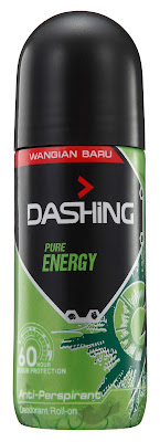 DASHING ADVENTURER 2.0  THE FIRST BREAKTHROUGH INNOVATION IN MALAYSIA-Dashing Deodorant Roll-Ons 40ml PURE ENERGY