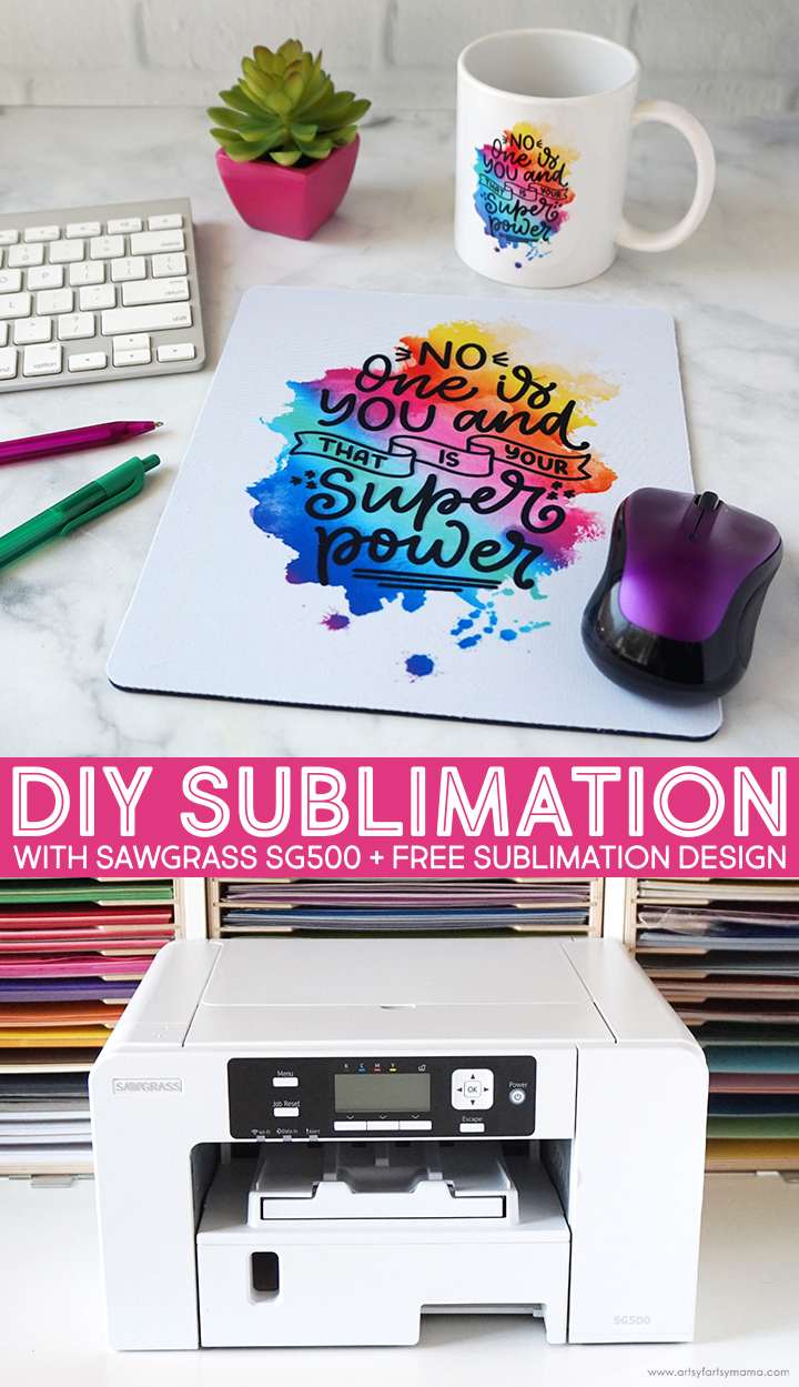 DIY Sublimation with Sawgrass SG500