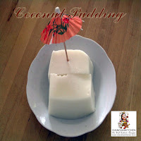 viaindiankitchen - Coconut Pudding