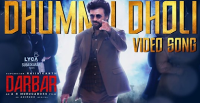 darbar-dhummu-dholi-full-video-song