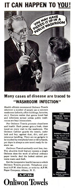 Onliwon Towels - Washroom Infection