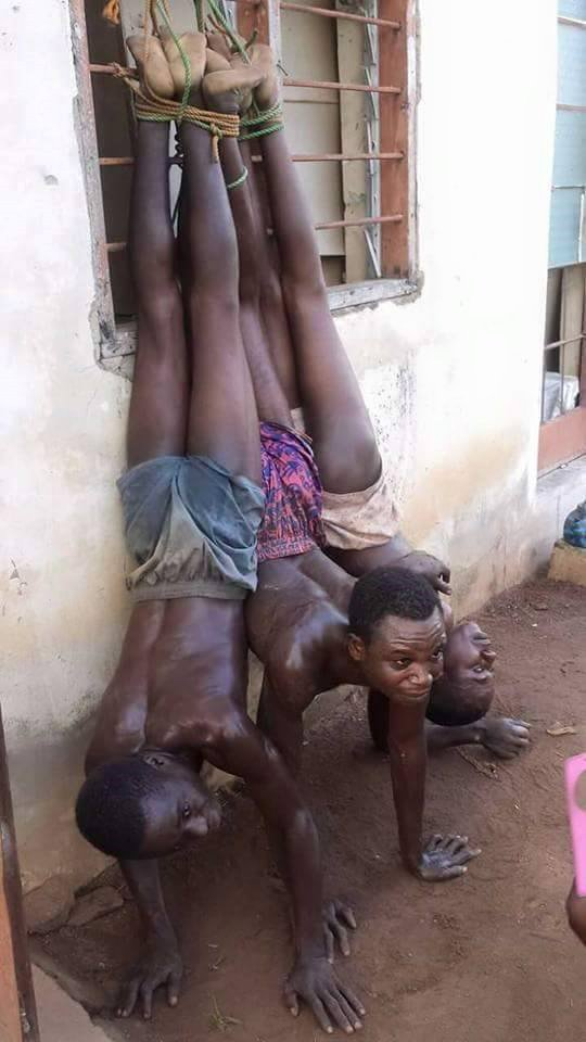 Lol..see what they did to some hoodlums after they were caught attempting to steal