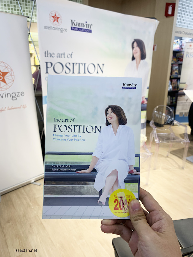 Introducing the Art Of Position book by Datuk Stella Chin