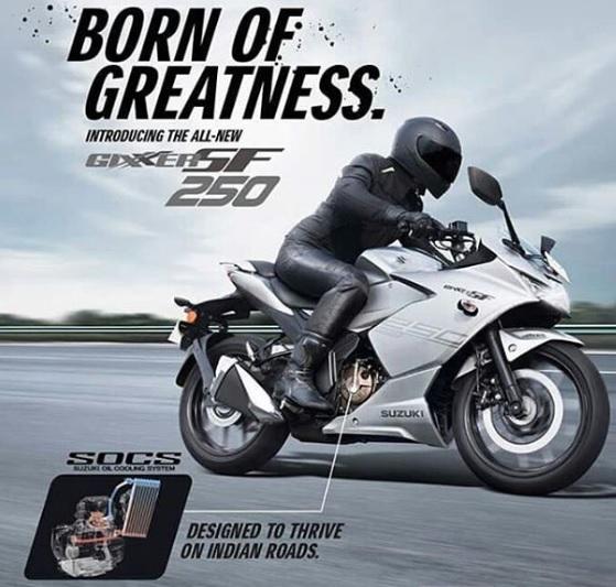Penampilan Suzuki GIxxer SF 250, desain, review, spec